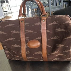 Longchamp Handbags - Longchamp Rare 80's travel bag/ Still Stunning!!!