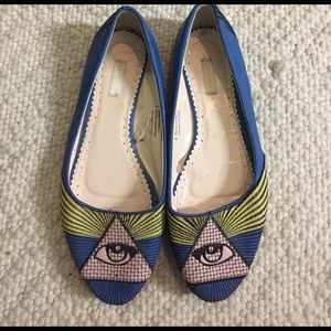 Urban Outfitters Shoes - Cooperative all seeing eye flats