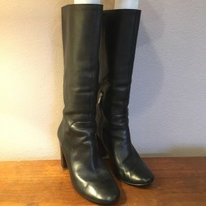 Banana Republic Shoes - Banana Republic black tall boots. Size 9