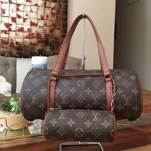Louis Vuitton Handbags - AUTHENTIC LOUIS VUITTON PAPILLON 30 AND POUCH