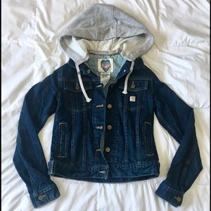 Carhartt Jackets & Blazers - Carhartt Denim Jacket size Small