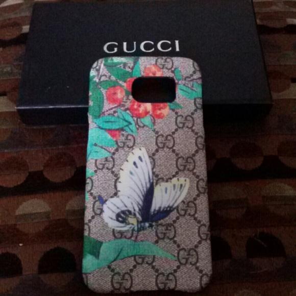 promo code 21e74 2baee Samsung S7 EDGE Gucci Tian Case