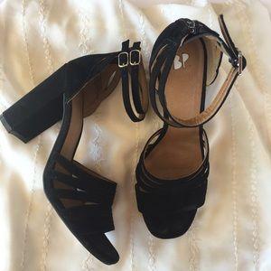bp Shoes - BP Gaby ankle strap heel