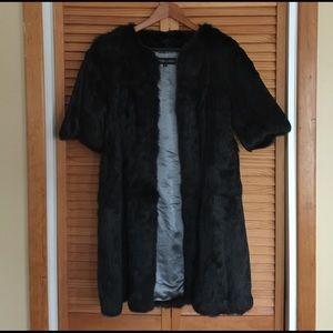 Adrienne Landau Jackets & Blazers - Adrienne Landau Rex fur coat