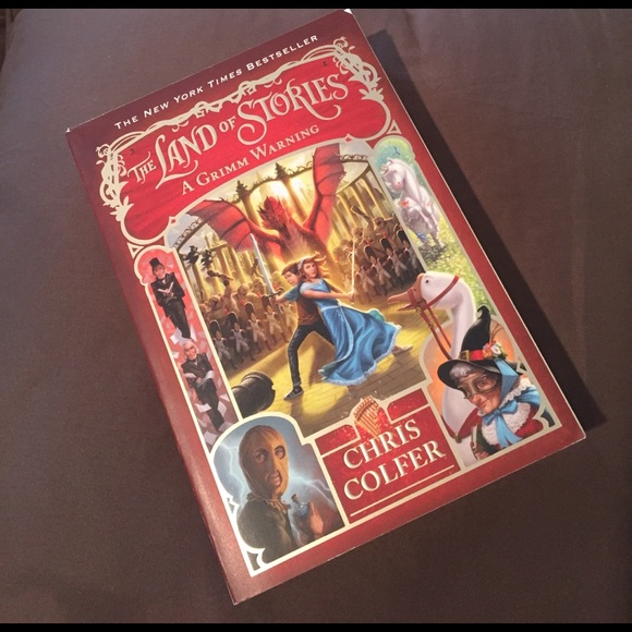 Accessories The Land Of Stories A Grimm Warning Book 3 Poshmark