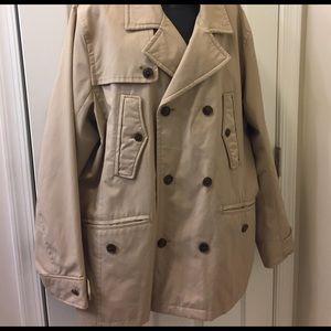 Banana Republic Jackets & Blazers - Banana Republic Short Rain Coat