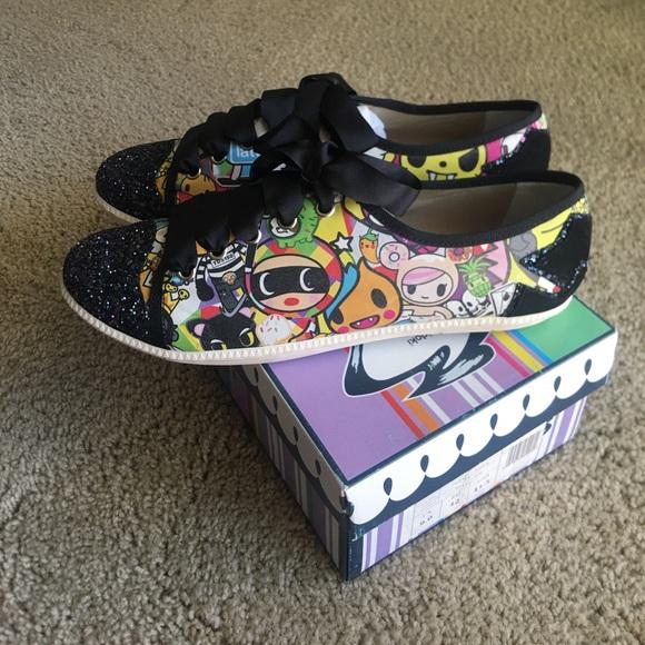 sale retailer f2fa3 6b506 London Sole x Tokidoki shoes sz 11 new Rare NWT