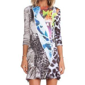 McQ Alexander McQueen Dresses & Skirts - McQ Alexander McQueen Multicolor Print Dress Small