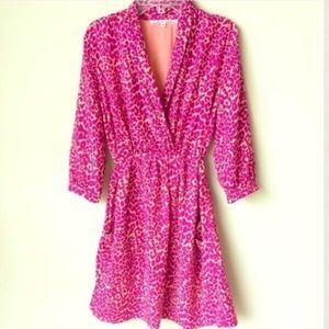 Collective Concepts Dresses & Skirts - Pink leopard Print Dress Collective Concepts
