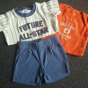 Carter's Other - 3 pc shorts set
