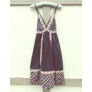 Xhilaration Dresses & Skirts - 🌵NEW🌵 Boho/ Spanish Cotton Rose Sun Dress