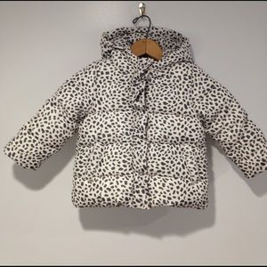 GAP Other - NWT Baby Gap toddler puffer coat leopard print 3t