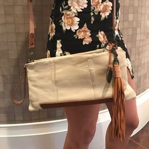 Will Leather Goods Handbags - WILL leather goods cream purse