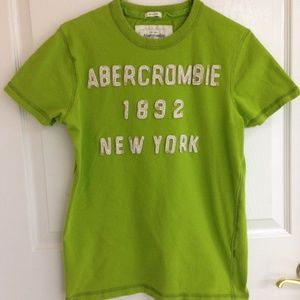 Abercrombie & Fitch Other - Abercrombie & Fitch Lime Green T-shirt