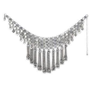 dylanlex Jewelry - DylanLex DLNLX silver bandana NIB Coachella neckl