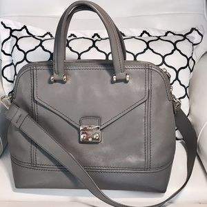 Furla Handbags - 🎀 FURLA Mist Gray Made in ITALY 🇮🇹