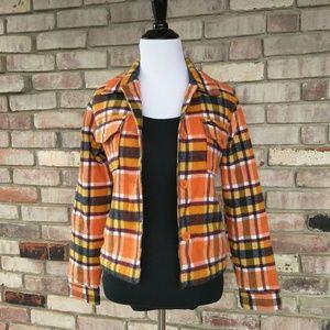 RVCA Jackets & Blazers - Adorable RVCA Plaid Coat