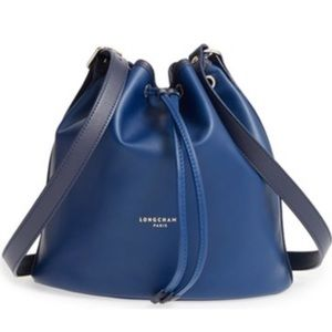 Longchamp Handbags - Longchamp 'Small 2.0' Leather Bucket Bag