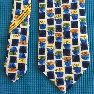 Men's tie by Ermenegildo Zegna 💯 silk. Italy