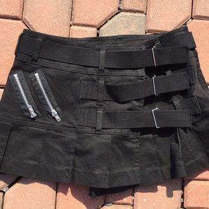 Tripp nyc Dresses & Skirts - Tripp Gothic Punk Mini Skirt Size Medium