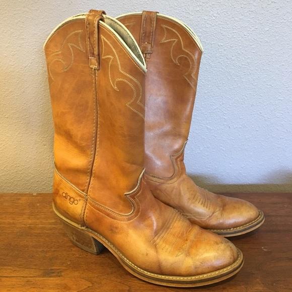 29e2f2e331a Dingo Mens Cowboy Boots Vintage 1980s Dingo Acme