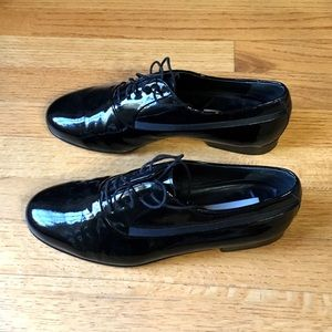 Mezlan Other - Men's Black Patent Leather Dress Shoes size 8.5W