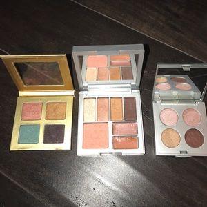 Stila Other - STILA 3 square eyeshadow palettes. 1 also w/gloss