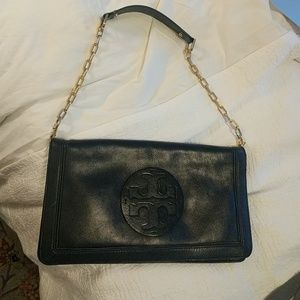 Tory Burch Handbags - Tory Burch black leather bag