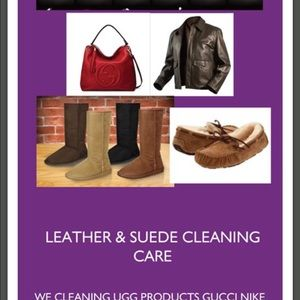 Dry cleaning services and laundry