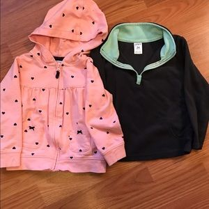Other - Pair of two sweatshirts 24 months