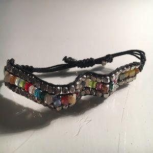 Jewelry - Stained Glass Metalic Bracelet