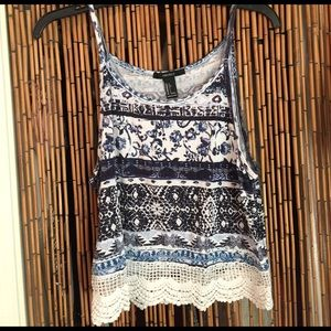Tilly's Tops - Forever 21 top