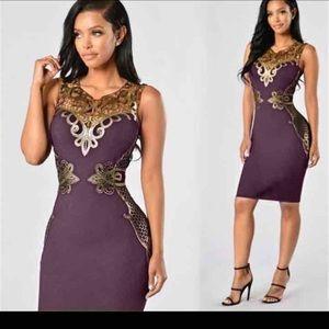 2017 Women Purple Sexy  bodycon Dresses