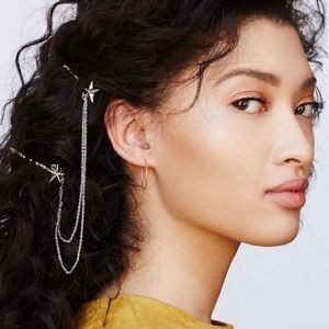 Free People starry waterfall hair clips