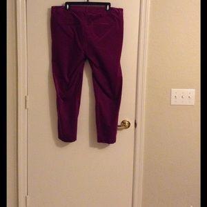 Old Navy Velvet Pants