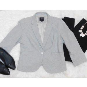 The Limited Jackets & Blazers - The Limited Grey Blazer - Medium