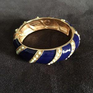 J. Crew Jewelry - Jcrew Beaded Clamp Bracelet