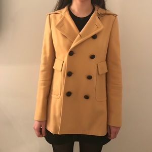 DSQUARED Jackets & Blazers - Dsquared yellow peacoat