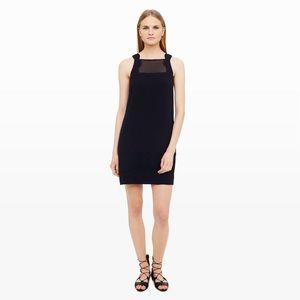 Club Monaco Dresses & Skirts - Club Monaco navy Nimah Scalloped Dress