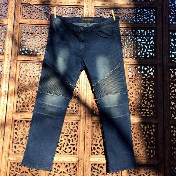 346f40b7e0b8 Brooklyn laundry Denim - ⚡️SALE⚡️Skinny 40 30 XXL  Embellish Moto jeans