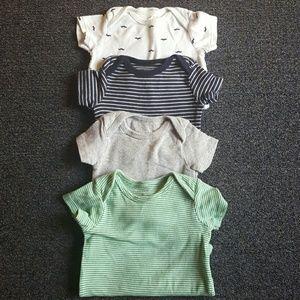 Carter's Other - Set of 4 boy onesies sz 3-6 mos