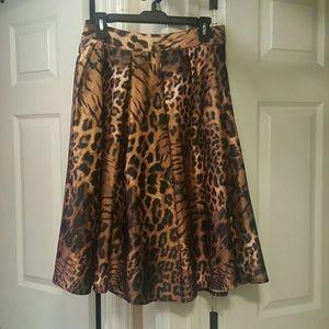 CHOISE Dresses & Skirts - Animal print skirt