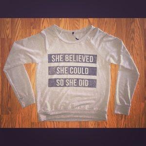 Triumph Tops - Inspirational Sweatshirt