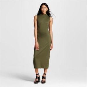 Who what wear (target) green mock neck dress / xs