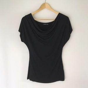 PattyBoutik Tops - Patty Boutik Cowl Neck T-Shirt