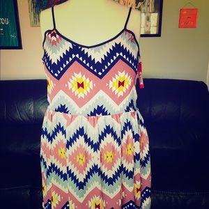 Xhilaration Dresses & Skirts - Aztec dress