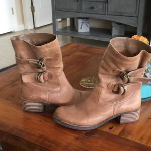 Arturo Chiang Shoes - Moto distressed boots