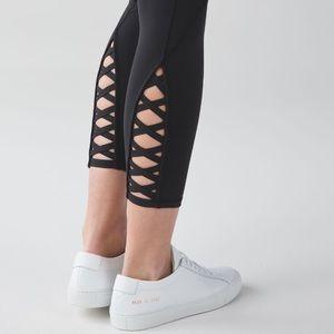 lululemon athletica Pants - •ISO Lululemon BLACK Pure Practice Pant Size 4/6!•