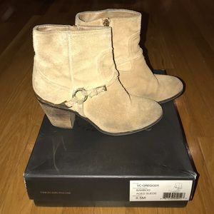 Vince Camuto Greggwr Bamboo Aged Suede Bootie
