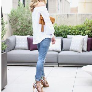 Jessica Simpson Shoes - Jessica Simpson Suede Fringe Heels